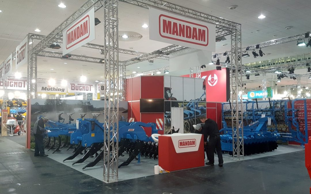 MANDAM – Exhibition AGRITECHNICA 2017 Hanower